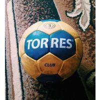 Мяч гандбольный Torres Club H30043 р.3 Blue/Yellow