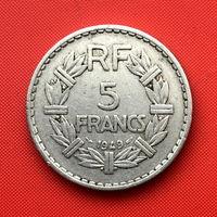 52-05 Франция, 5 франков 1949 г.