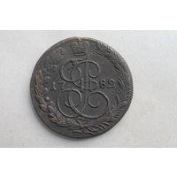 5 копеек 1782 г. КМ