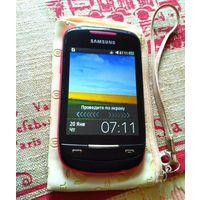 Samsung S3850 Corby 2 розовый 1 сим