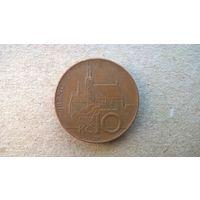 Чехия 10 крон, 2003г. (sb-1)