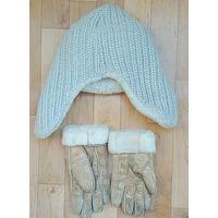 Шапка +перчатки (тёплые)-Польша-LOMAN