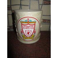 Коллекционная пивная кружка . Ливерпуль . Футбол
