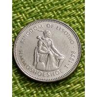 "Лесото 1 лоти 1998 г ""Король Лесото - Мошвешве II"""
