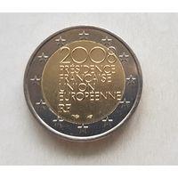2 евро Франция 2008 Председательство Франции в Европейском Союзе