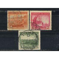 Чили 1938-40 Мотивы Стандарт #239,241,242