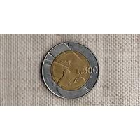 Сан-Марино 500 лир 1990 /биметалл//FV/