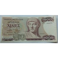 Греция 1000 Драхм 1987 XF 505