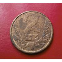 2 злотых 1979 Польша #03