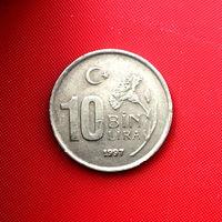 58-07 Турция, 10000 лир 1997 г.