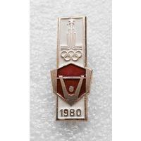 Значок. Олимпиада 1980 года #0359