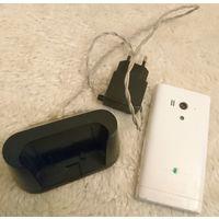 Sony xperia acro s lt26w белый (на запчасти, кирпич)