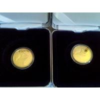"""""""Вавёрка"""" ("""" Белка """") , Золотая , проба золота: 999. 50 рублей , 2012 год. Тираж 2.000 шт."""