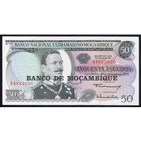 Мозамбик / MOZAMBIQUE_nd (1976-old 27.10.1970)_50 Escudos_P#116_UNC