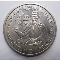 Португалия 200 эскудо 1997 г. Хосе де Анчьета .