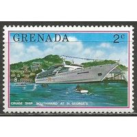 Гренада. Круизный лайнер. 1976г. Mi#735.