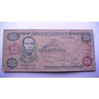 Ямайка 2 доллара 1993г.    распродажа