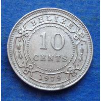 Белиз 10 центов 1979