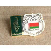 Значок Олимпиада Атланта 1996 Команда РБ Беларусь