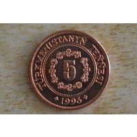 Туркменистан 5 тенге 1993