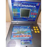 Детский компьютер Всезнайка, компьютерно-фонографические игры для детей