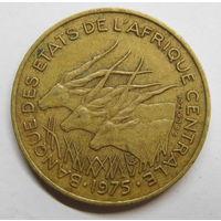 Центральная Африка 25 франков 1975 г