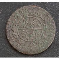 Грош 1765 с рубля