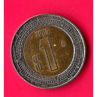 29-14 Мексика 1 песо 2004 г