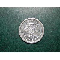 Ямайка 5 долларов 2014