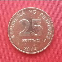 62-33 Филиппины, 25 сентимо 2004 г.