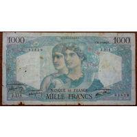 Франция, 1000 франков 1946 год, Р130