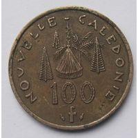 Новая Каледония 100 франков 1976