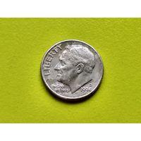 США. 10 центов (1 дайм) 1994 D (Roosevelt Dime).