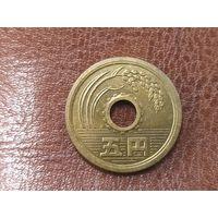 5 йен 1974 Япония