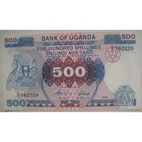 Уганда 500 шиллингов 1986 г. (g)