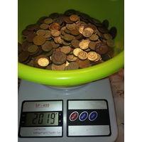 2 кг . очень красивых монеток СССР.С 1 рубля.
