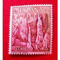 Испания, горы, одиночная марка