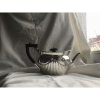 Антикварный серебряный чайник 1908г от Barnard