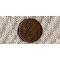 Дания 2 эре 1920/(Oct)