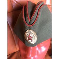 Общевойсковая пилотка  советского  офицера. состояние СКЛАД!  в наличие  2 пилотки-цена  указана  за ОДНУ!
