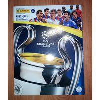 Журнал для наклеек Лига Чемпионов(League Champions 2014-2015)