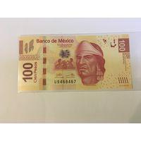 Мексика 100 песо 2009 пресс
