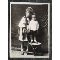 Фото детей. До 1917 г. 9х12 см.