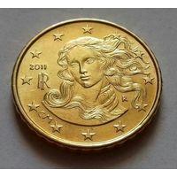 10 евроцентов, Италия 2011 г., AU