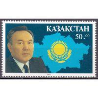 КАЗАХСТАН 1993 НАЗАРБАЕВ , 1м Михель #28
