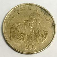 Танзания. Занзибар. 200 шиллингов. 2014