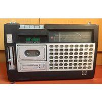 VEF-260 Sigma. Магнитола, радиоприёмник. Сигма. ВЭФ. ВЕФ. Радио приемник