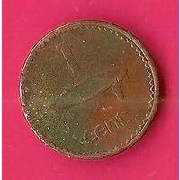 41-20 Фиджи,  1 цент 1997 г. Единственное предложение монеты данного года на АУ