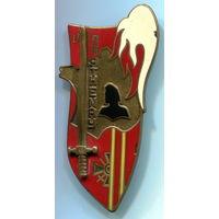 Франция. Знак военной академии Сен-Сир, 1974-1976 (236 курсантов в выпуске)