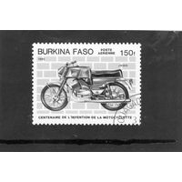 Буркина-фассо. Мотоцикл Jawa.